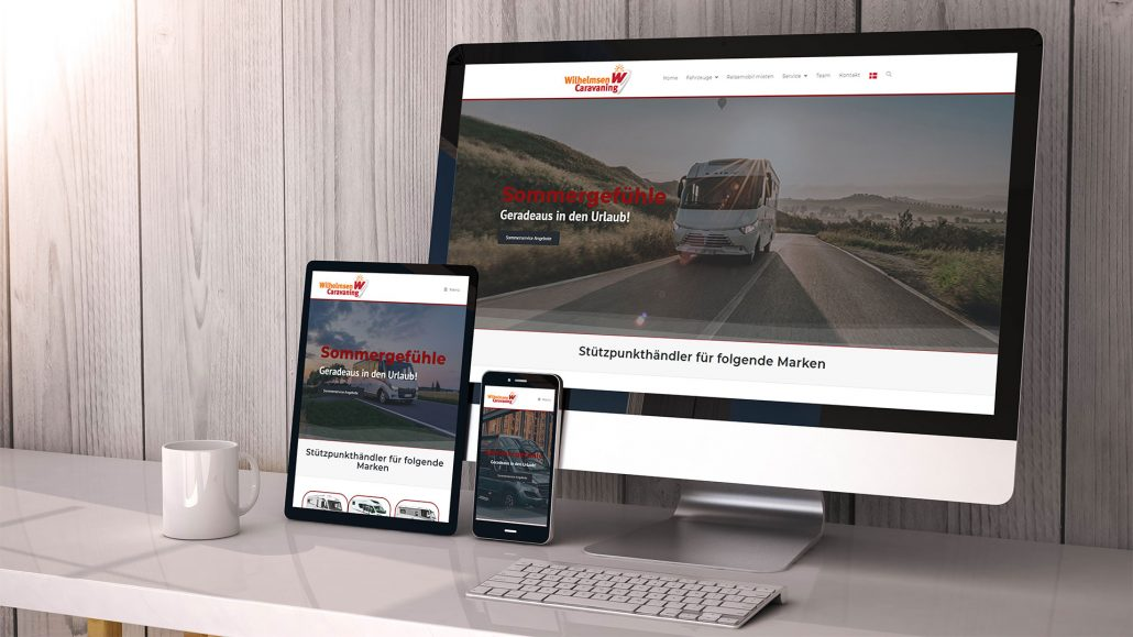 Website Wilhelmsen Caravan